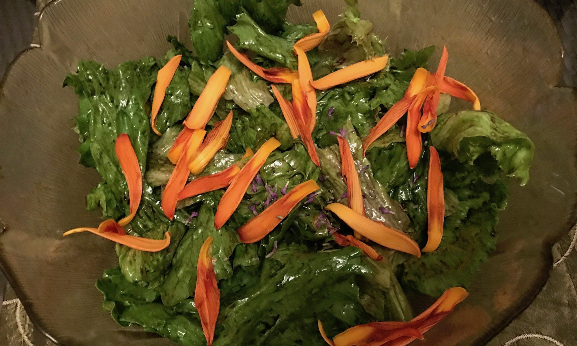 Reiki Salat fertig