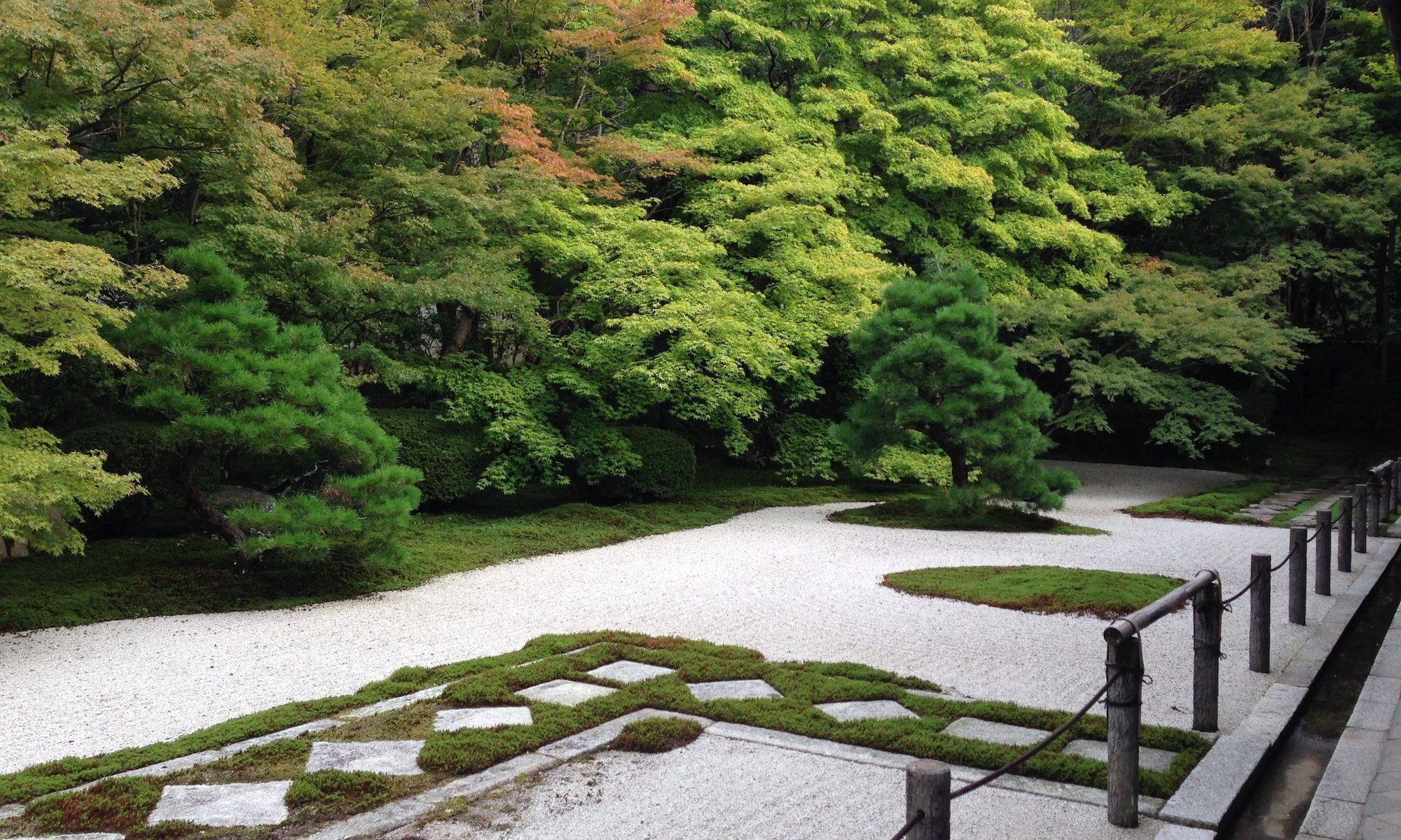 Zen-Garten in Kyoto
