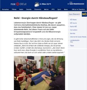 ORF NÖ online: Reiki-Company